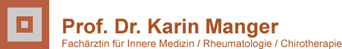 Logo Rheumapraxis Prof. Dr. Karin Manger